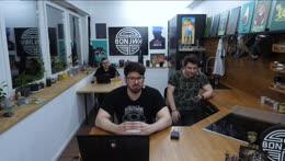 Briefing mit hamu, Leon & Matteo