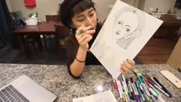 Having fun at Art!