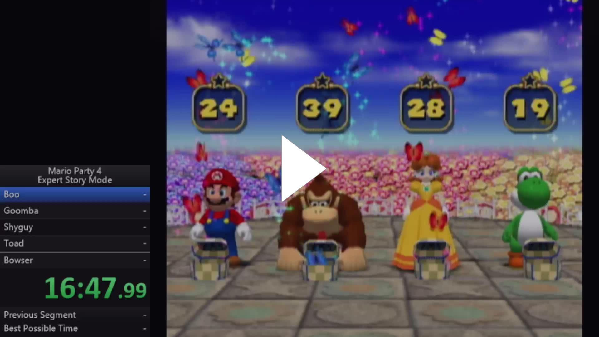 Silo Simon Mario Party 4 Expert Story Mode Speerun Twitch