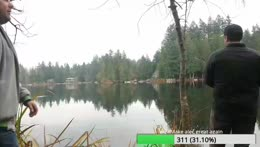 Fishing trout beaver lake