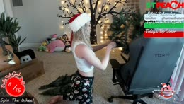 ON THE FIRST DAY OF TWITCHMAS PEACHY GAVE TO ME~