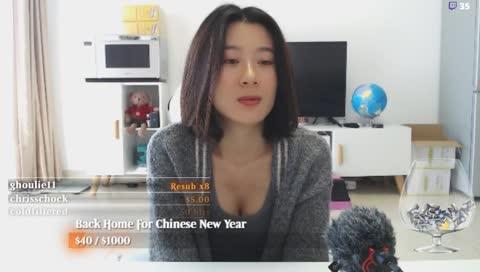 中國的妹子主播  我很可以