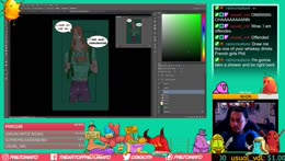Still working on my Webtoon. Lets chat! <3