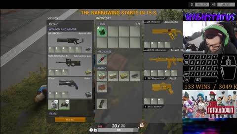 Ranked #1 U.S. | 130+ WINS | 3000+ KILLS    I    twitter.com/H1GHSTATUS