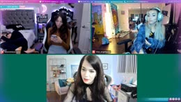 Quarenhang! with @barbleslol @miss_angeliquew @officialevelynclaire