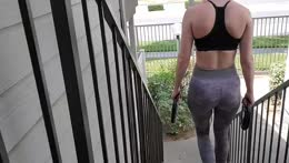 scuffed workout  at home