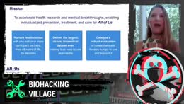 Medical Device Security and DIYBIO. Part of DEF CON conference. !schedule   !discord  !missedtalk
