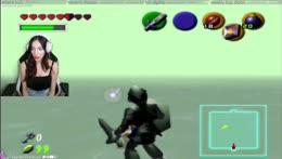 Zelda vs. Dark Zelda!