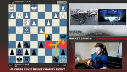Chess & Nasa SpaceX Rocket Launch