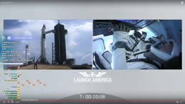REACTING ANDY ROCKET LAUNCH EDITION // @ConnorEatsPants commentates SpaceX Manned Rocket Launch // More Later? connor6T