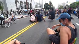 IRL - DOWNTOWN LA PROTESTS - !YouTube !Discord - Follow @jakenbakeLIVE on !Socials
