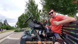 Cycling across Canada Day 9 - Location: Kelowna, BC !trip !trailer !youtube