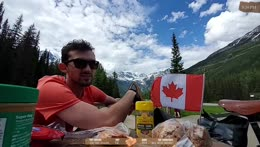 Cycling across Canada Day 12 - Location: Revelstoke, BC !trip !trailer !youtube