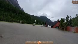 Cycling across Canada Day 13 - Location: Field, BC !trip !trailer !youtube