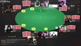 ONE TRILLION DOLLAR POKER TOURNAMENT POG POG POG !POKER