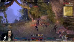!giveaway ESO Blackwood/LFG Dungeons with Yuria - Companion Leveling what could go wrong?