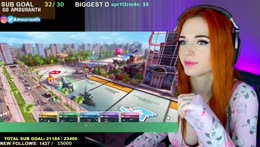 🍑MONOPOLY WITH MIZ💦!s !social💦!instagram: @amouranth💦!GFUEL💦