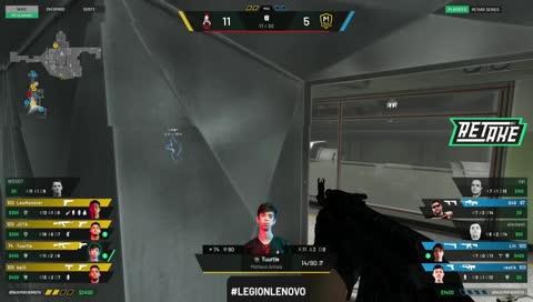 JOTA vence 1v2 para a Bravos (Nuke)   DRAFT5.gg