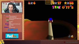 120 Star non-stop Randomizer speedrun PB is 2:28:00
