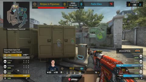 Coldzera vence clutch 1vs2 (Overpass)