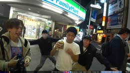 Japanese lad downs bottle of alcohol