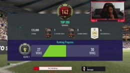 27-2 AIMING FOR TOP 200! CAN WE DO IT?? FUT CHAMPS !sub !prime