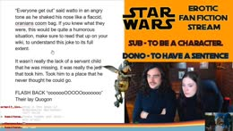 Twins Stream. Erotic Star Wars fan-fiction Writing stream - MAY THE COOM BE WITH YOU