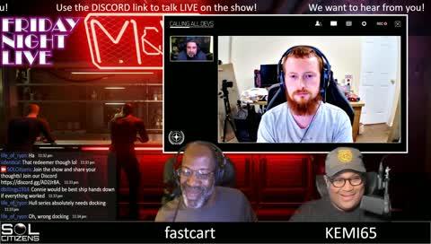 """Friday Night Live!"" A Star Citizen Interactive Talk Show"