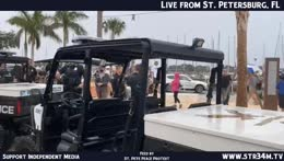 str34m LIVE - St. Petersburg, FL - St. Pete Peace Protest