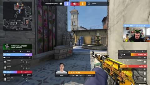 TRK elimina dois jogadores e garante retake para 00Nation (Inferno) | DRAFT5.gg