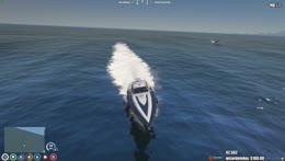 Wheelie boat