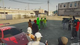The Lime Minister makes a enterance!