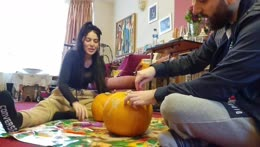 Pumpkin Carvin | !events to join subathon contest