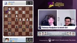 Radjabov and Giri | Hand and Brain against Premium users!