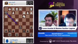 Aronian and MVL | Hand and Brain against Premium users!
