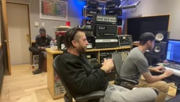 Studio Session with Three Days Grace