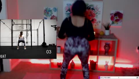 kittykate38 - 🍑 YOGA WITH A THICC DEMON | !SOCIALS 🍑