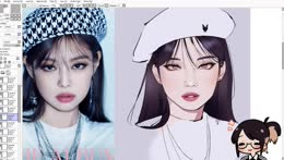 Hyoon drawing Jennie