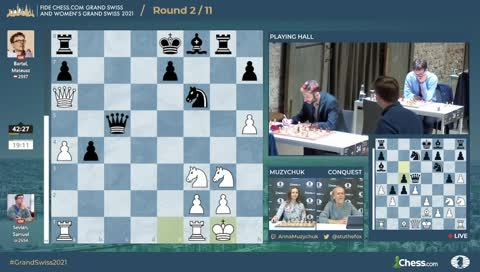 FIDE Chess.com Grand Swiss 2021 | Hosts Muzychuk and Conquest | !format !results