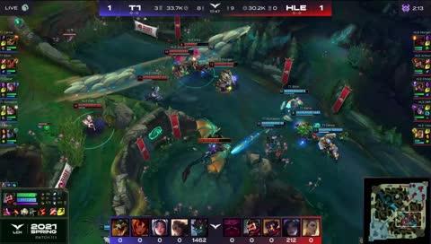 lck - Clozer carrying teamfight