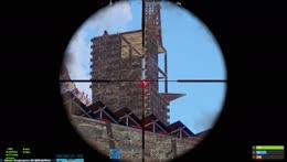 Hutnik snipes with rocket