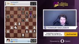 Banter Blitz with Teimour Radjabov