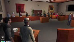 Chief Justice Stanton | The People V Mike Block | NoPixel