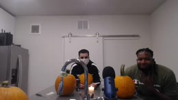 Pumpkin Carving Stream With Friends | @Ssaab45