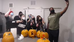 Pumpkin Carving Stream With Friends | @Ssaab45 !who