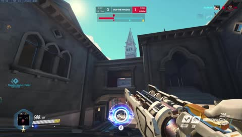 barcode_ow - gm tank with top tier plays