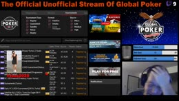 Playing Global Poker MTTs on The Official Unofficial Stream of Global Poker