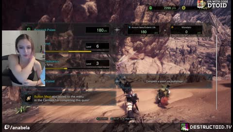Destructoid - first time learning MHW :) tips and conversation about the game is appreciated while we learn it