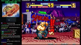 playing Neo-Geo fighters against the CPU sure does seem like a good idea
