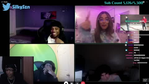 SilkyTheDon - !yt BADDIE ON STREAM RN, SUPER LIT STREAM TONIGHT. POP OUT! |  !vid NEW IRL YT VIDEO OUT !sub !prime